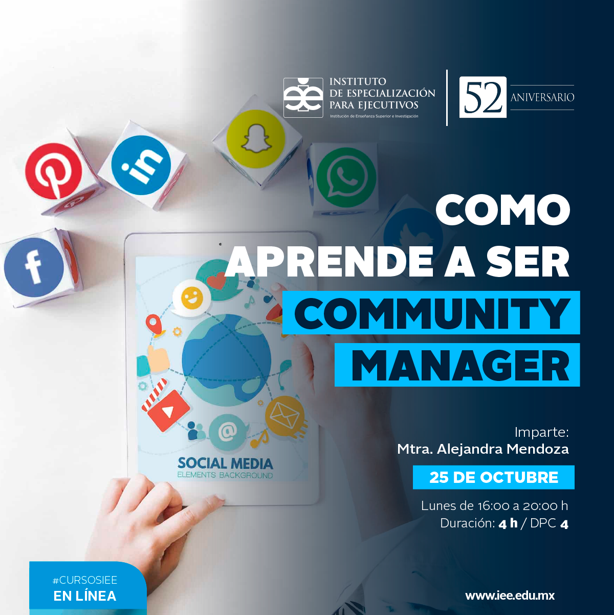 Curso en Línea en Como Aprende a ser Community Manager