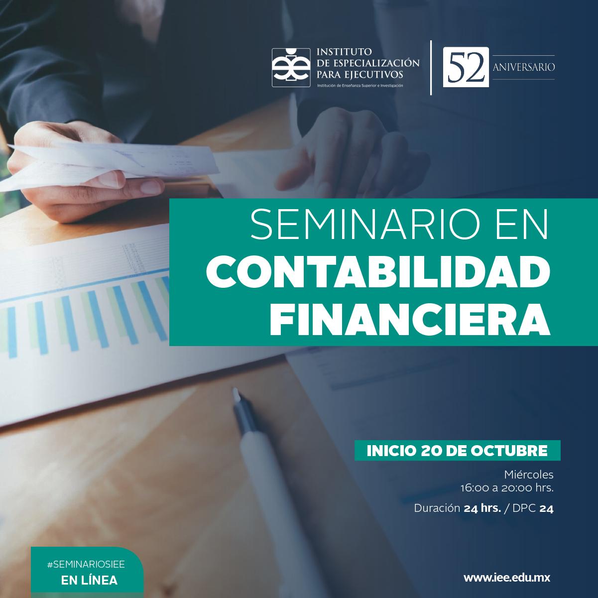 Seminario en Línea en Contabilidad Financiera
