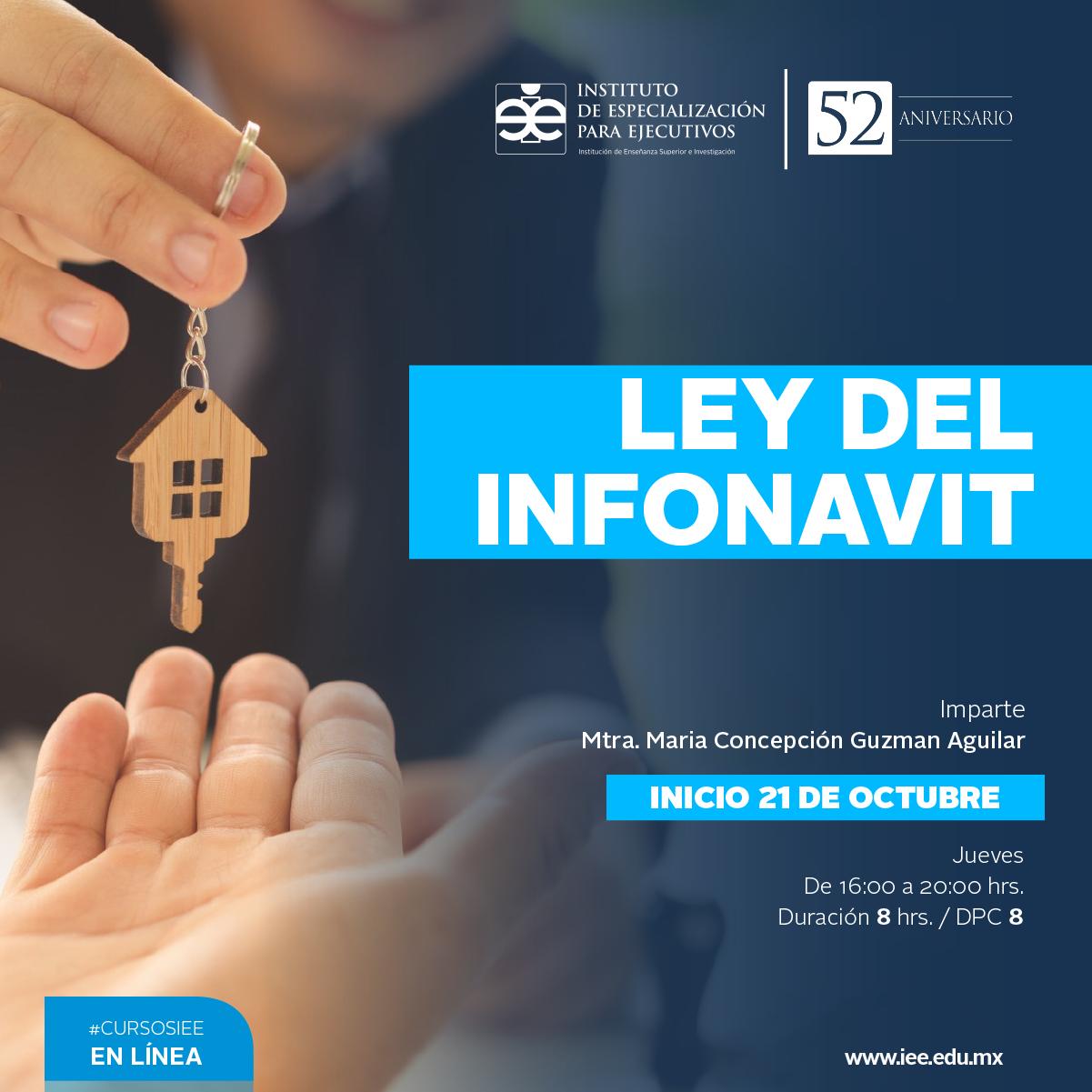 Curso en Línea Ley del Infonavit