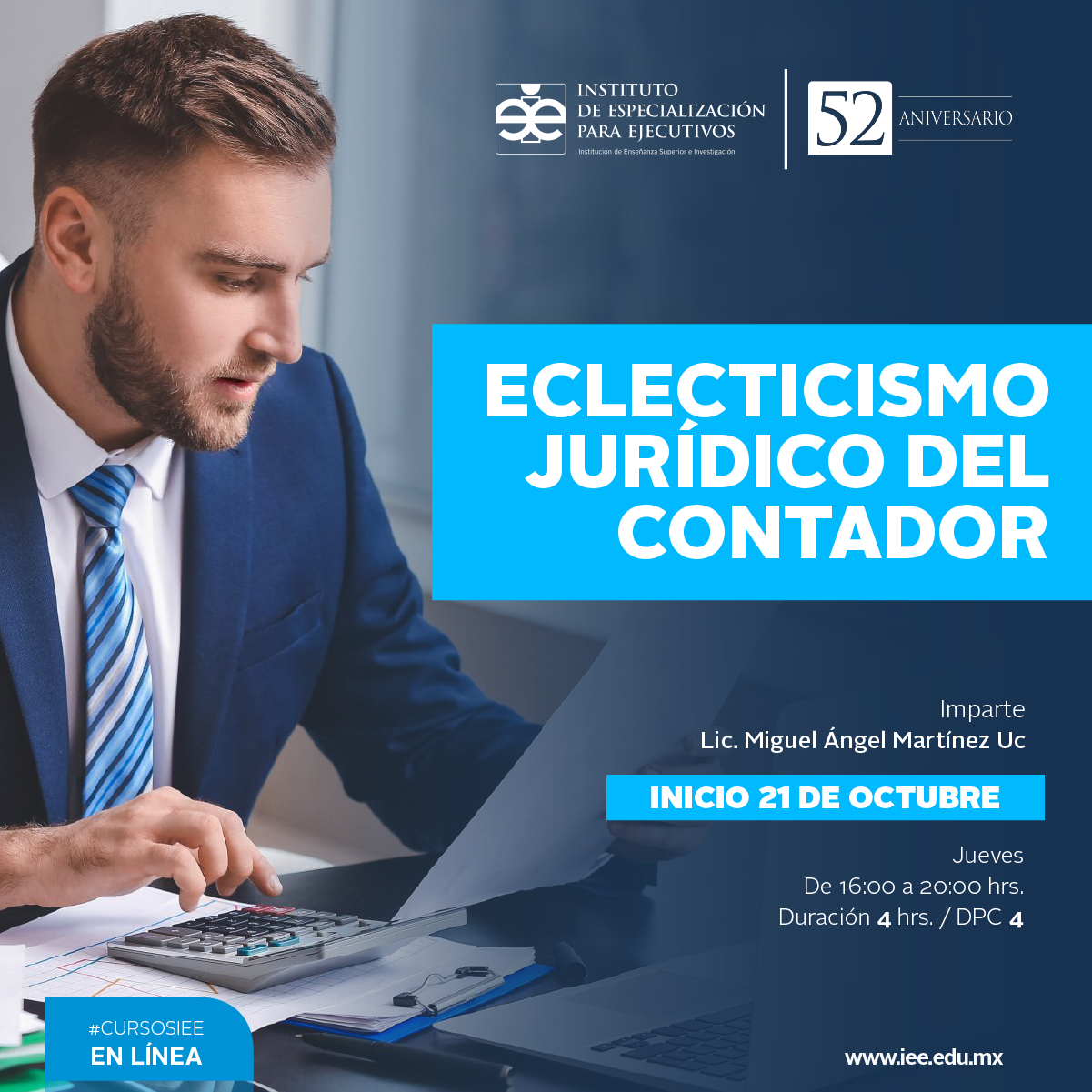 Curso en línea Eclecticismo Jurídico del Contador