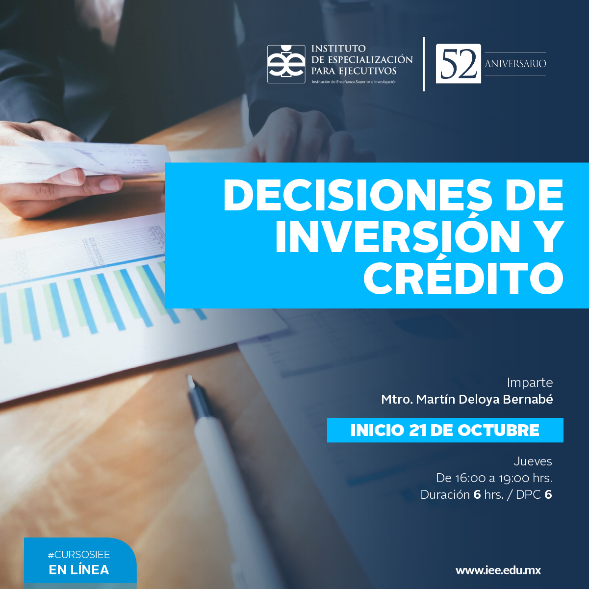 Curso en Línea Decisiones de Inversión y Crédito