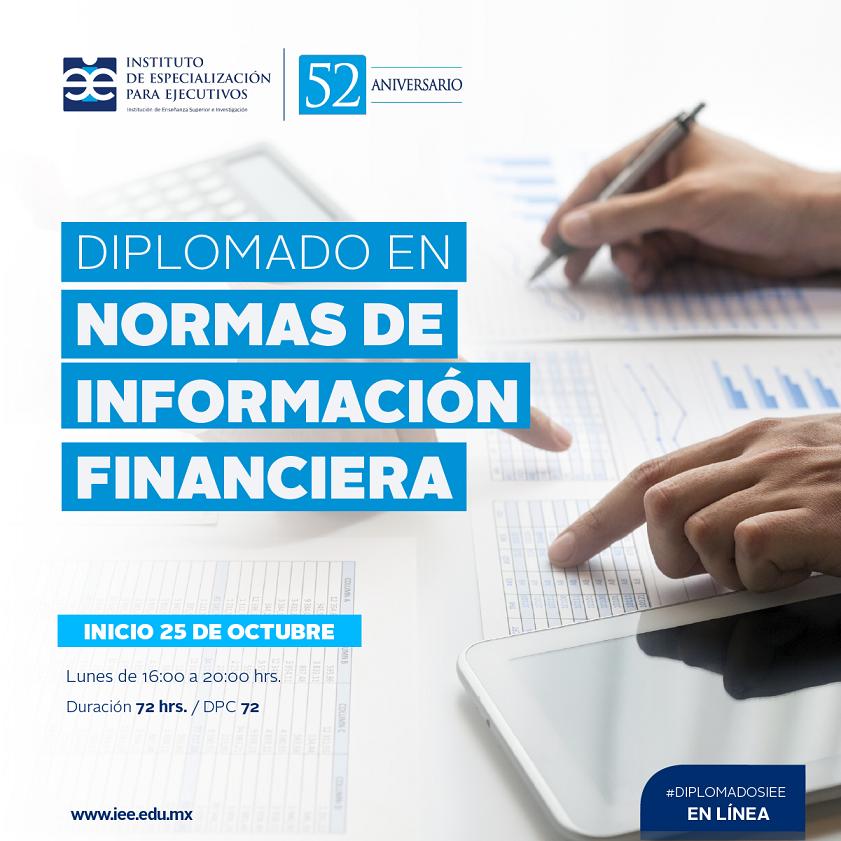 Diplomado en Línea en Normas de Información Financiera