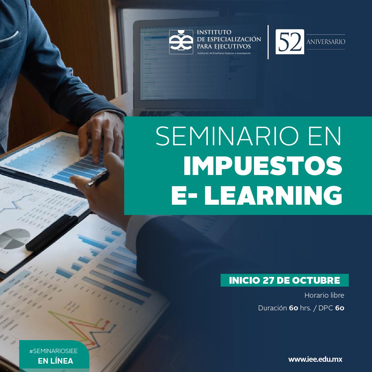 Seminario en Línea en Impuestos E- Learning