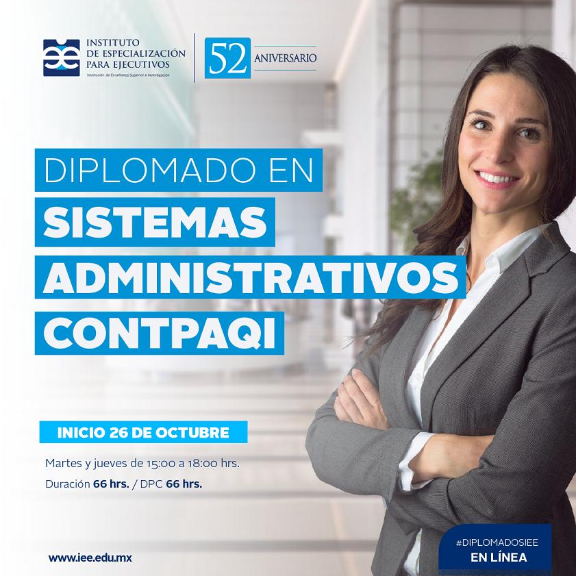 Diplomado en Línea en Sistemas Administrativos CONTPAQI