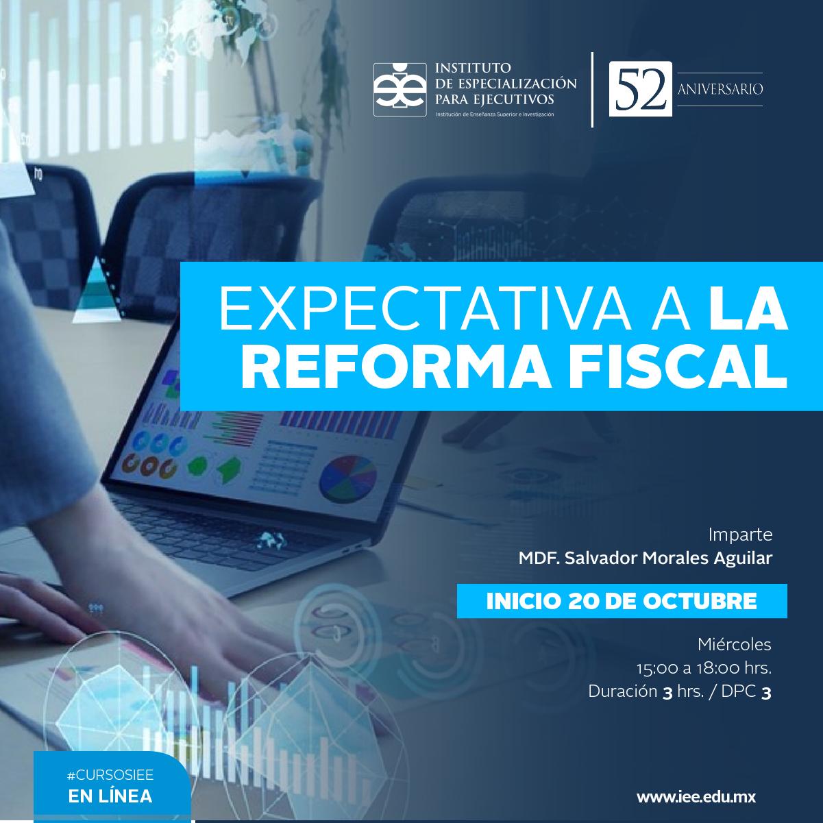 Curso en Línea Expectativa a la Reforma Fiscal